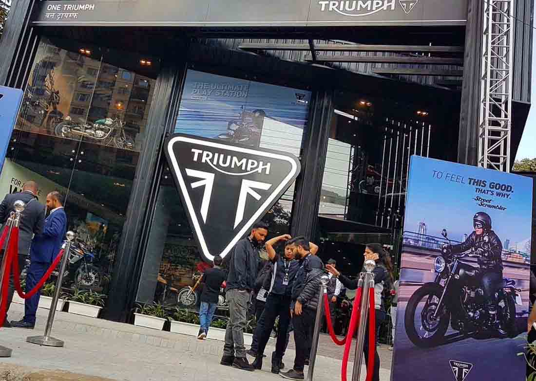 triumph-showroom-gurgaon