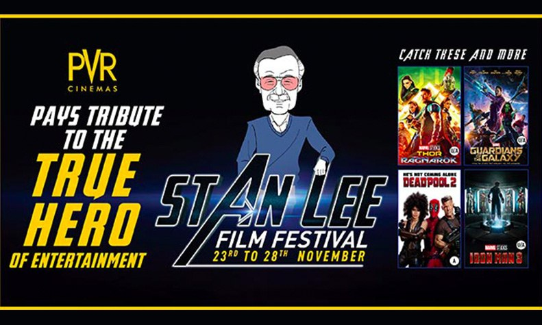 stan-lee-film-festival-pvr-cinemas-ambience-mall-gurgaon