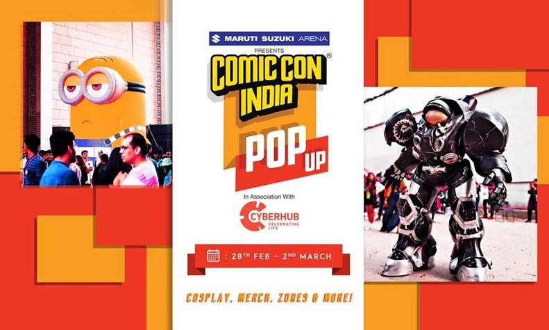 comic-con-india-pop-up-dlf-cyber-hub-gurgaon