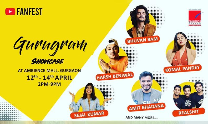 youtube-fan-fest-ambience-mall-gurgaon