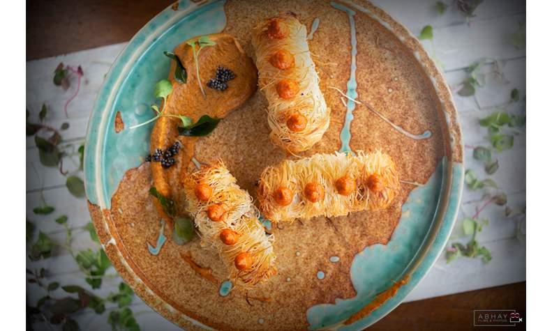kataifi-wrapped-seekh-kebabs-gravity-gurgaon